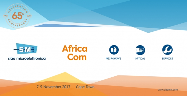 SIAE MICROELETTRONICA at AfricaCom 2017