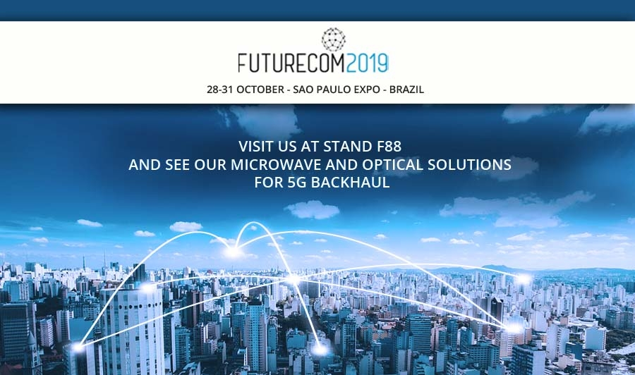 SIAE MICROELETTRONICA INVITE YOU TO VISIT OUR BOOTH F88 AT FUTURECOM IN SAO PAULO FROM OCT 28 - OCT 31